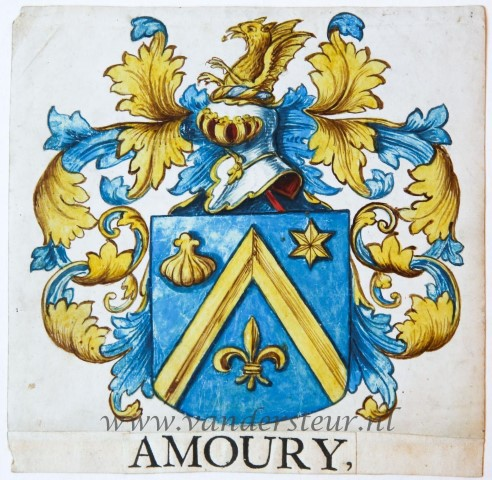 Wapenkaart/Coat of Arms: Amoury