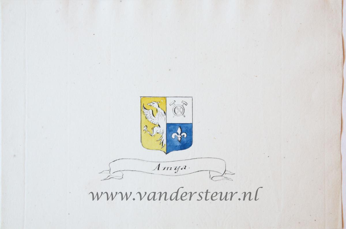 Wapenkaart/Coat of Arms: Amya
