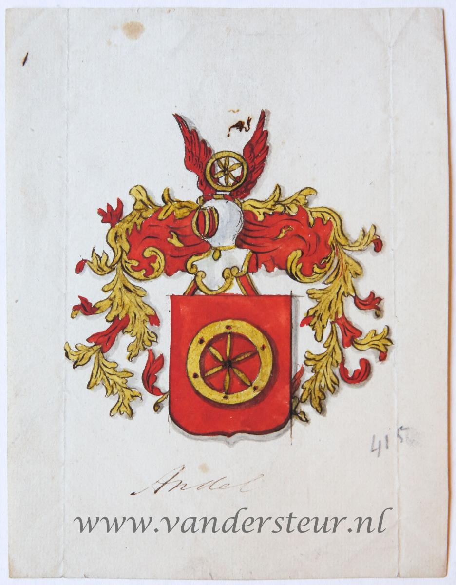 Wapenkaart/Coat of Arms: Andel