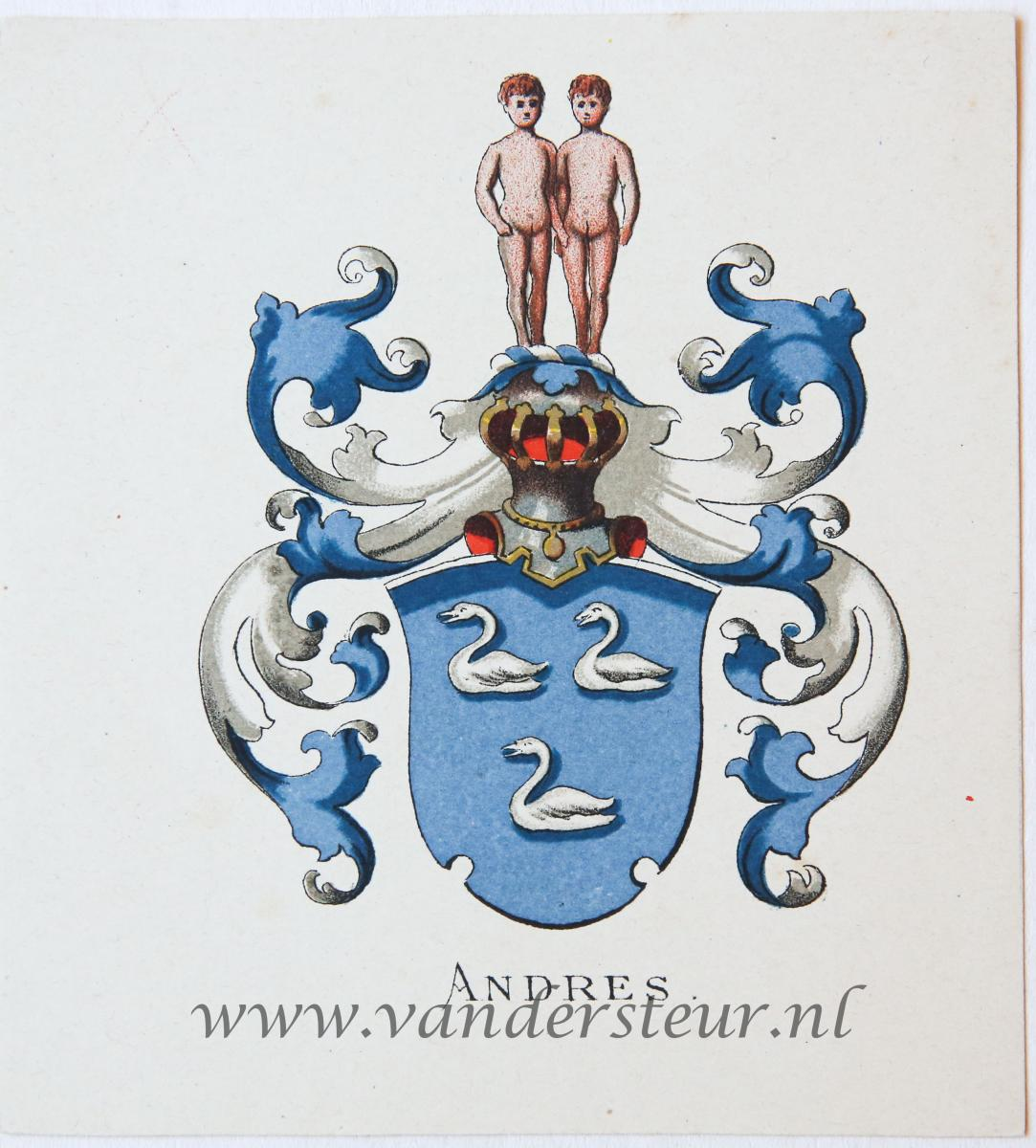 Wapenkaart/Coat of Arms: Andres