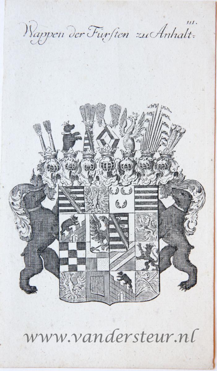 Wapenkaart/Coat of Arms: Anhalt