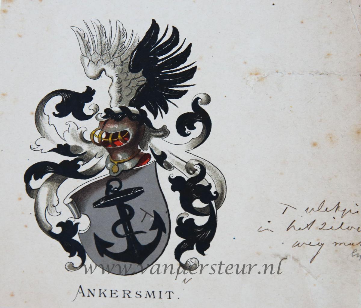 Wapenkaart/Coat of Arms: Ankersmit