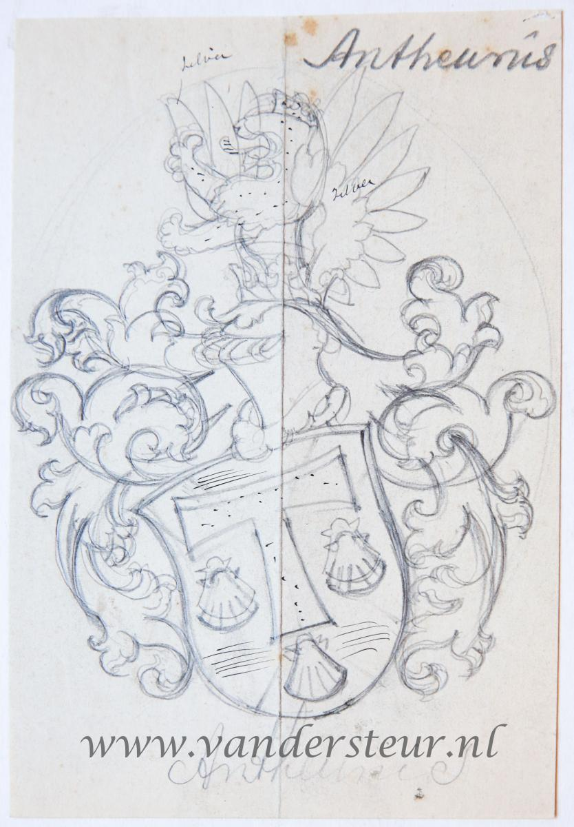 Wapenkaart/Coat of Arms: Antheunis