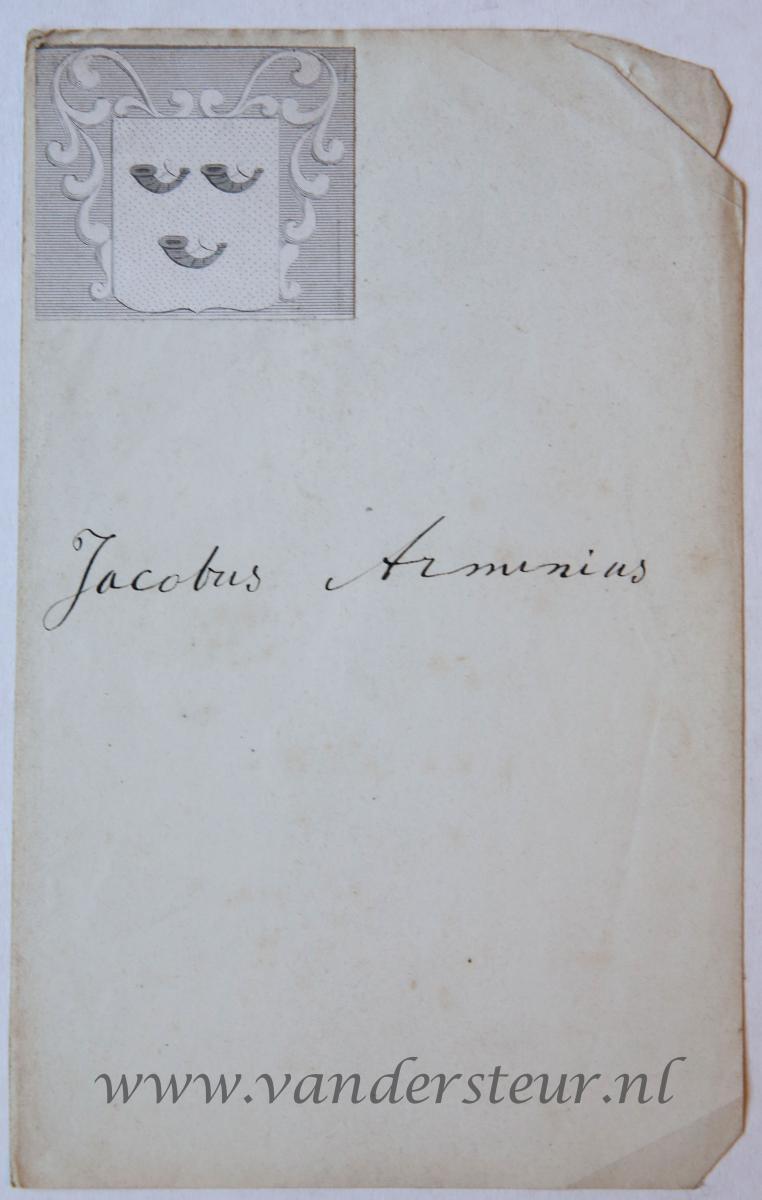 Wapenkaart/Coat of Arms: Arminius
