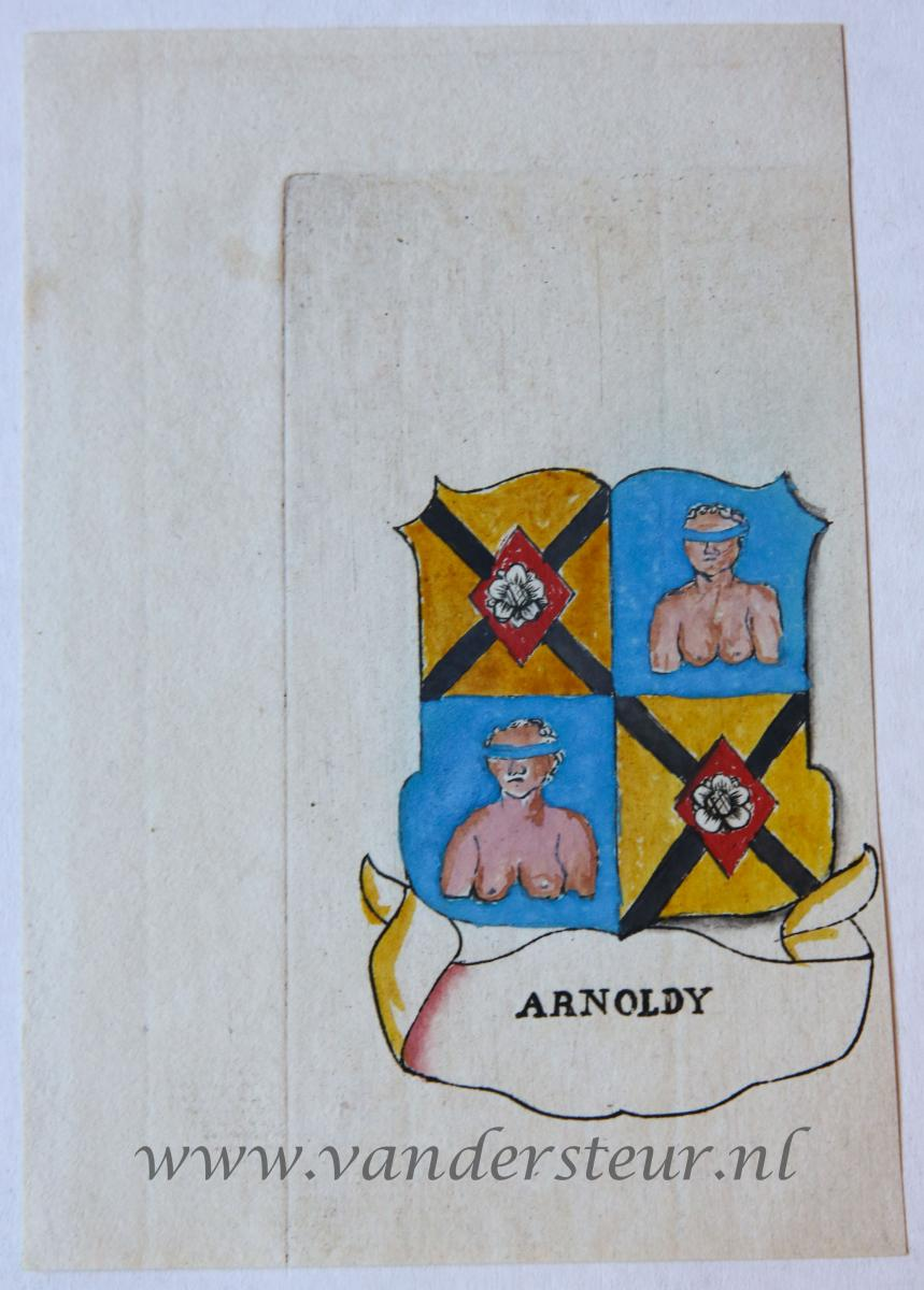 Wapenkaart/Coat of Arms: Arnoldy