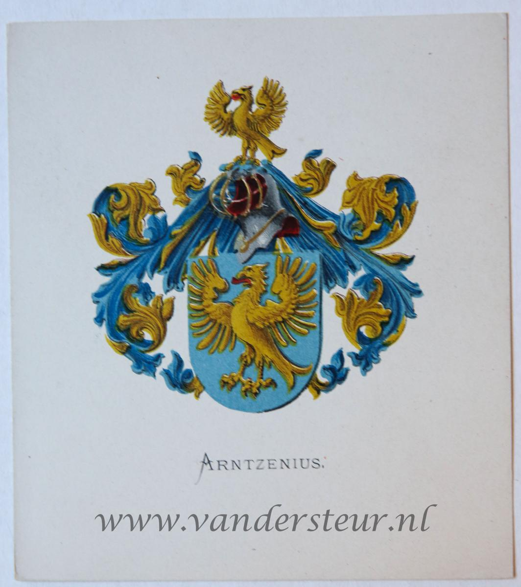 Wapenkaart/Coat of Arms: Arntzenius