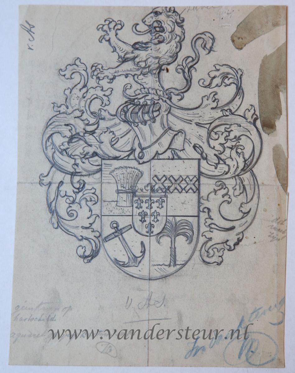 Wapenkaart/Coat of Arms: As (Van)