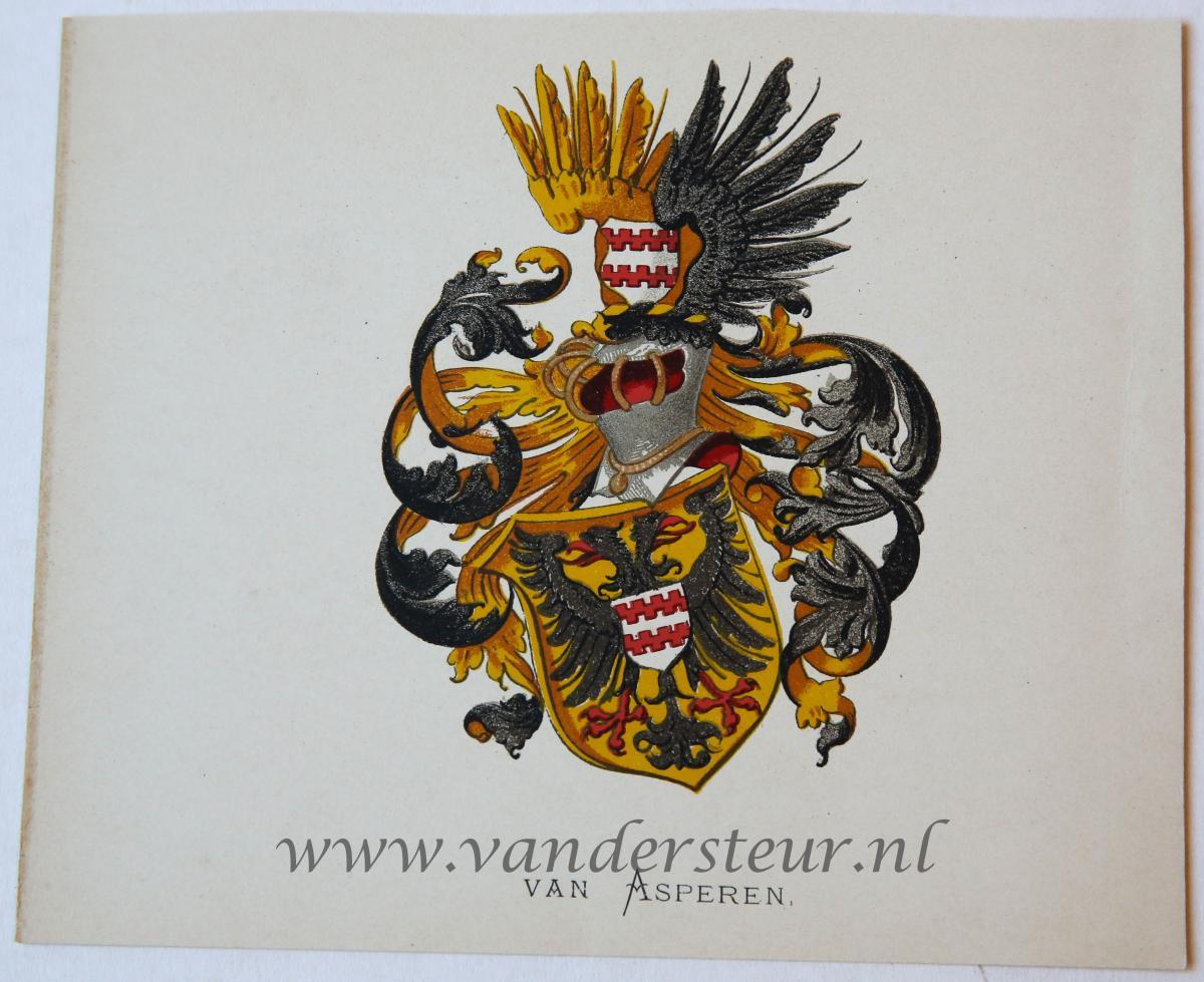Wapenkaart/Coat of Arms: Asperen (Van)