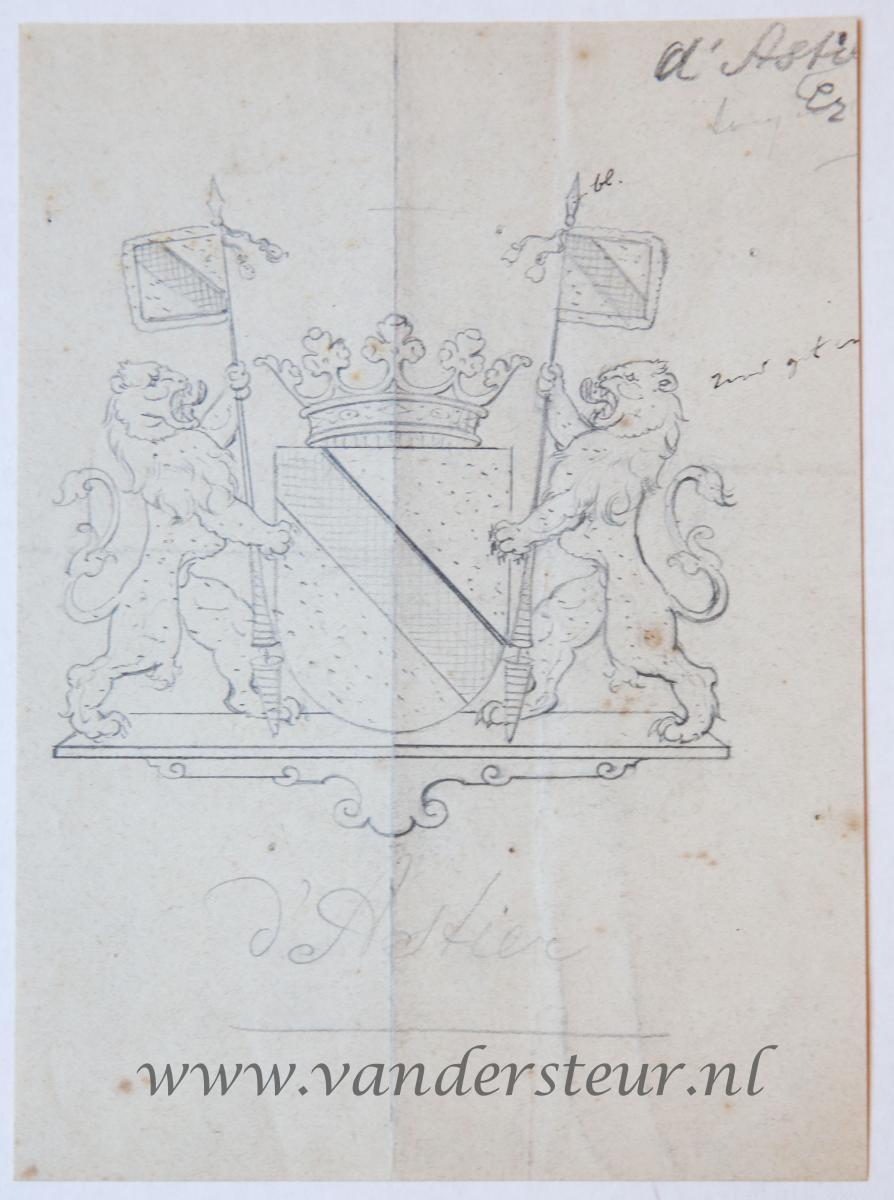 Wapenkaart/Coat of Arms: Astier (d')