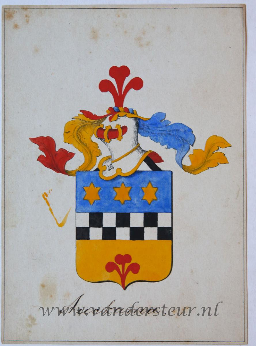 Wapenkaart/Coat of Arms: Auckama