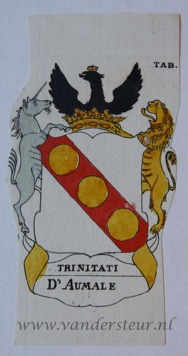 Wapenkaart/Coat of Arms: Aumale (d')