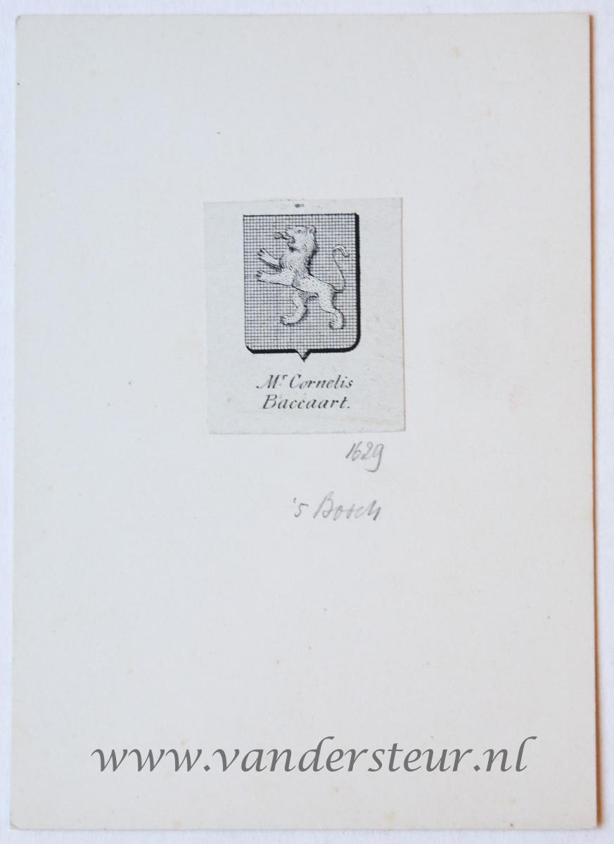 Wapenkaart/Coat of Arms: Baccaart