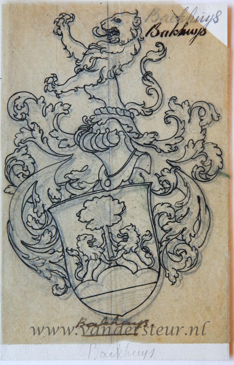 Wapenkaart/Coat of Arms: Backhuys