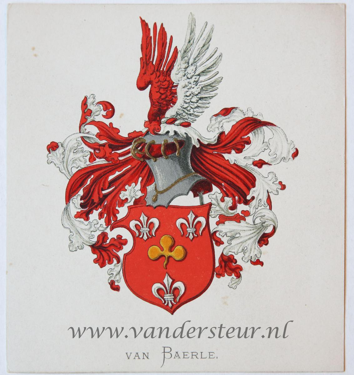Wapenkaart/Coat of Arms: Baerle (Van)