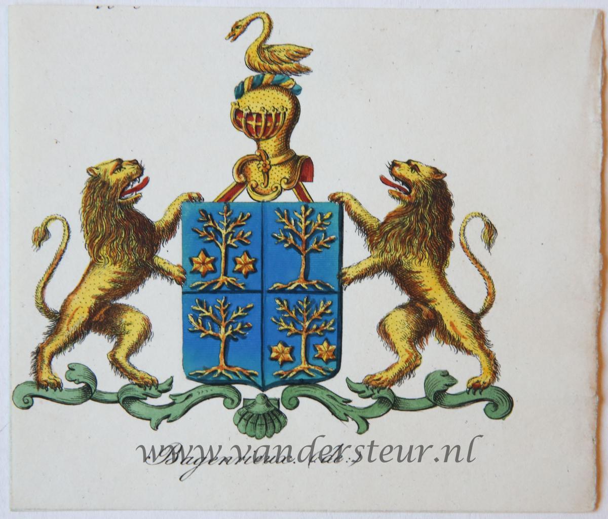 Wapenkaart/Coat of Arms: Bagenrieux (De)
